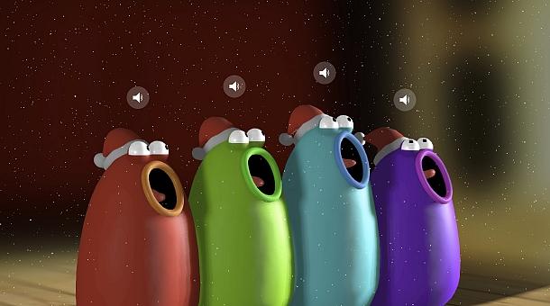 Blob Opera Kerstliedjes | Dualler