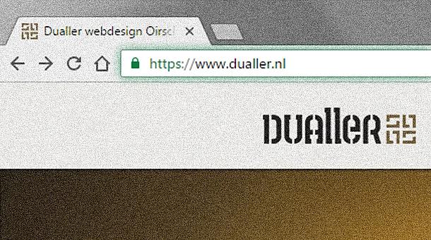 Veilige verbindingen en hoger in Google door SSL certificaten | Dualler