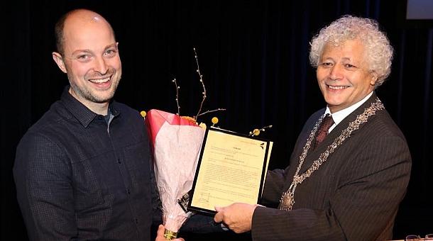 Vrijwilligersprijs 2016 Gemeente Oirschot voor Lennard van de Laar | Dualler