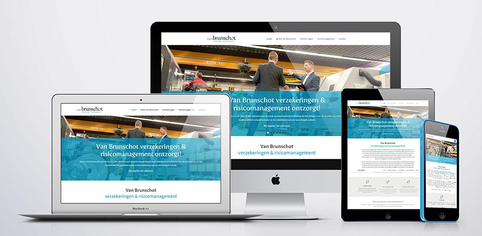 Een voorbeeld van een responsive website ontwikkeld door Dualler