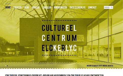 Responsive website voor Cultureel Centrum Elckerlyc