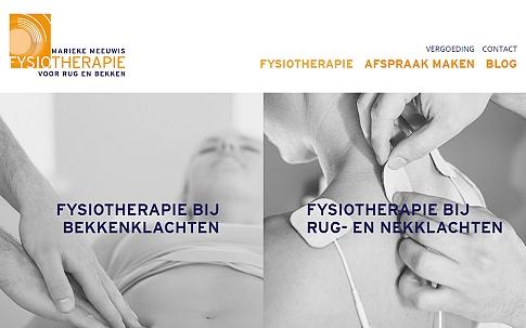 Responsive website voor fysiotherapie praktijk | Dualler