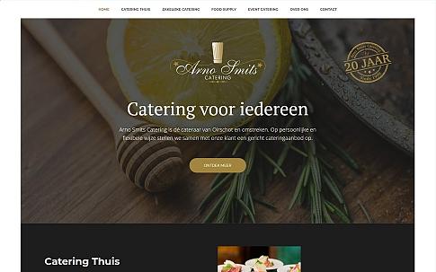 Responsive website voor Arno Smits Catering | Dualler webdesign Oirschot