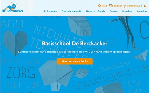 Responsive website in opdracht van Basischool De Berckacker | Dualler