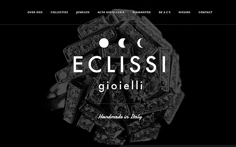 ECLISSI gioielli responsive website door Dualler
