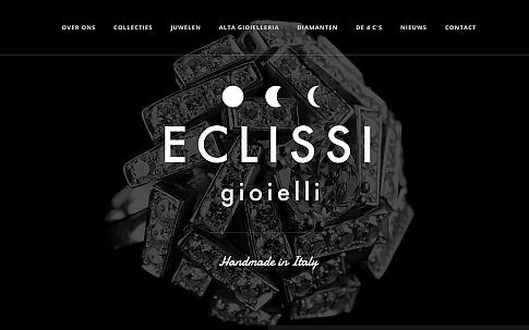 ECLISSI gioielli responsive website door Dualler