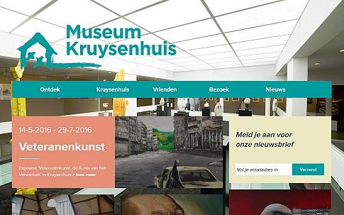 Responsive website Museum Kruysenhuis Oirschot | Dualler
