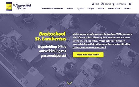 Responisve website Basischool St. Lambertus | Dualler