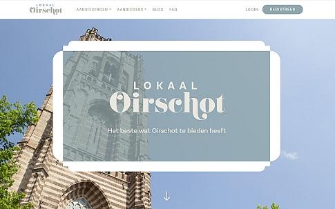 Website voor Lokaal Oirschot | Dualler