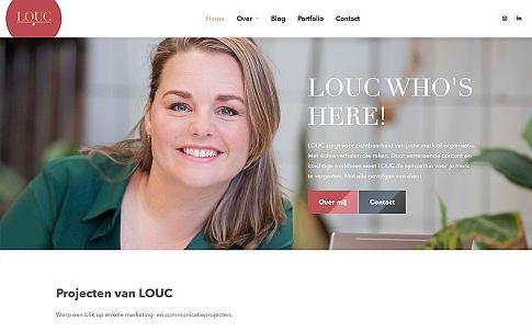 WordPress website voor LOUC communicatie | Dualler