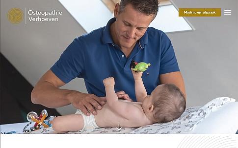 Responsive website voor Osteopathie Verhoeven | Dualler