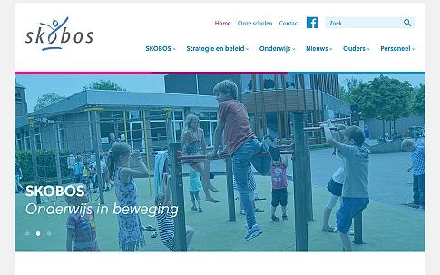 Responsive website basisschool SKOBOS | Dualler webdesign