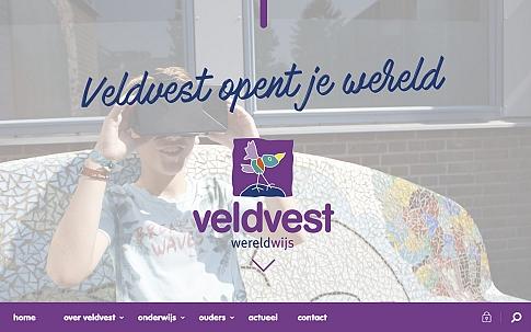 Maatwerk website Veldvest | Dualler