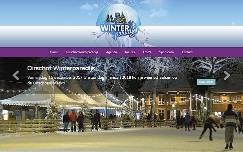 WordPress website voor Oirschot Winterparadijs | Dualler