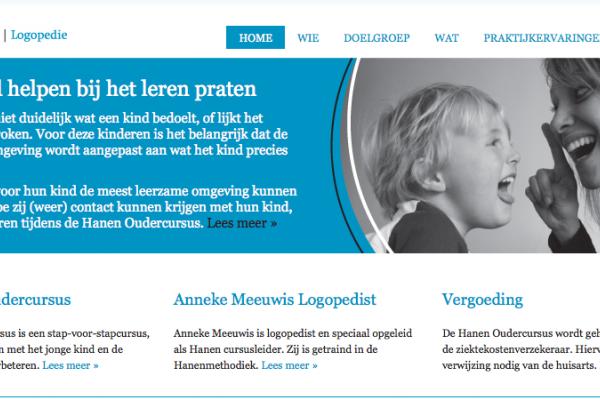 Anneke Meeuwis | Logopedie