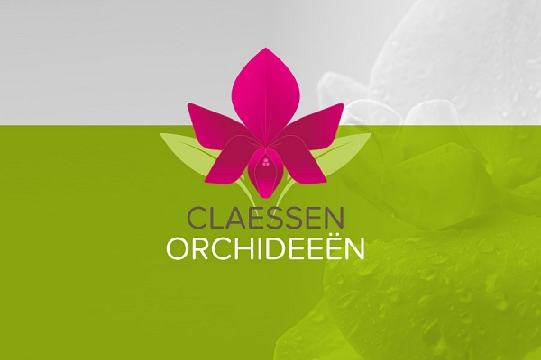 Huisstijl voor Claessen Orchideeën