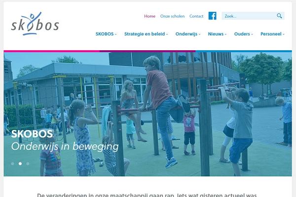 Responsive website voor basisschool SKOBOS | Dualler webdesign