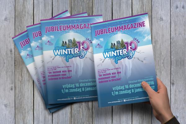 Jubileummagazine Oirschot Winterparadijs | Dualler
