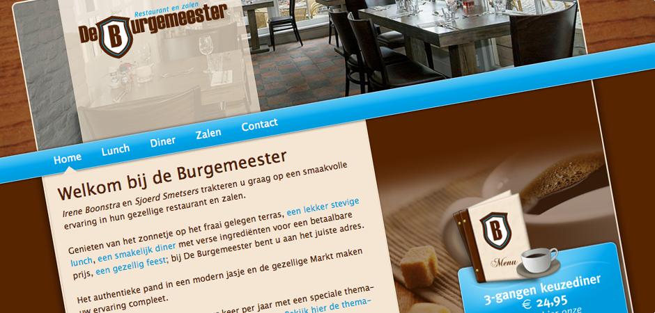 Restaurant en zalen De Burgemeester