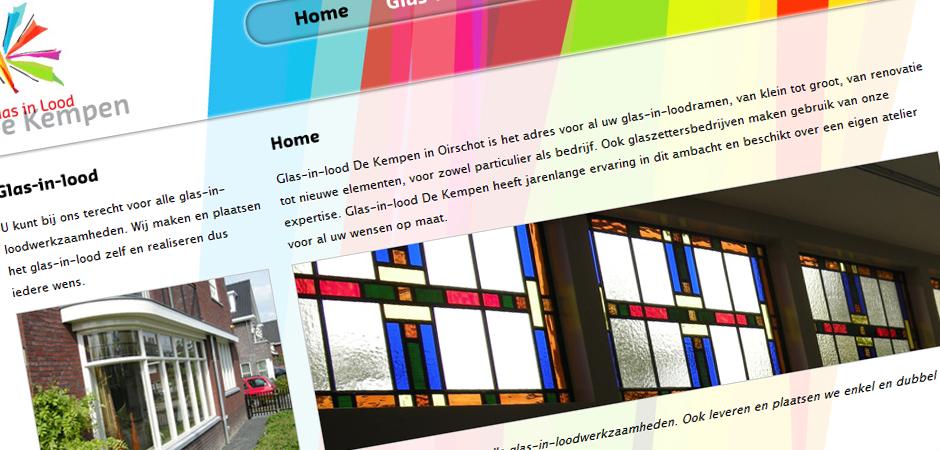 Glas-in-lood De Kempen