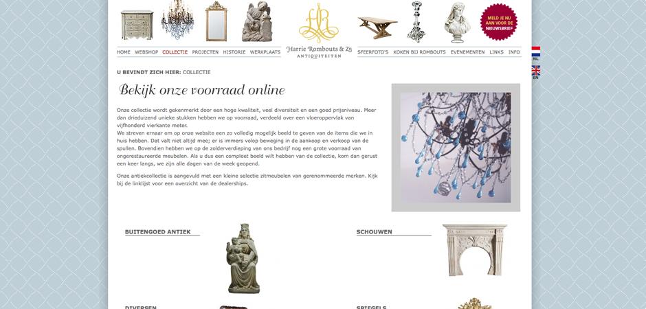 Harrie Rombouts & Zn. Antiquiteiten