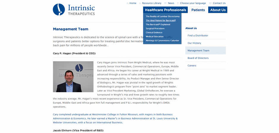 Intrinsic Therapeutics, Inc.