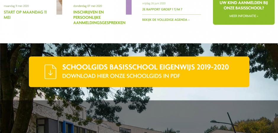 Website voor Basisschool EigenWijs | Dualler