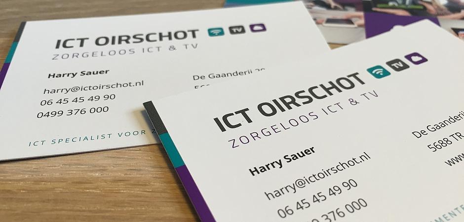 Visitekaartje ICT Oirschot | Dualler