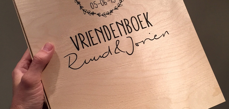 Vriendenboek voor Jorien & Ruud
