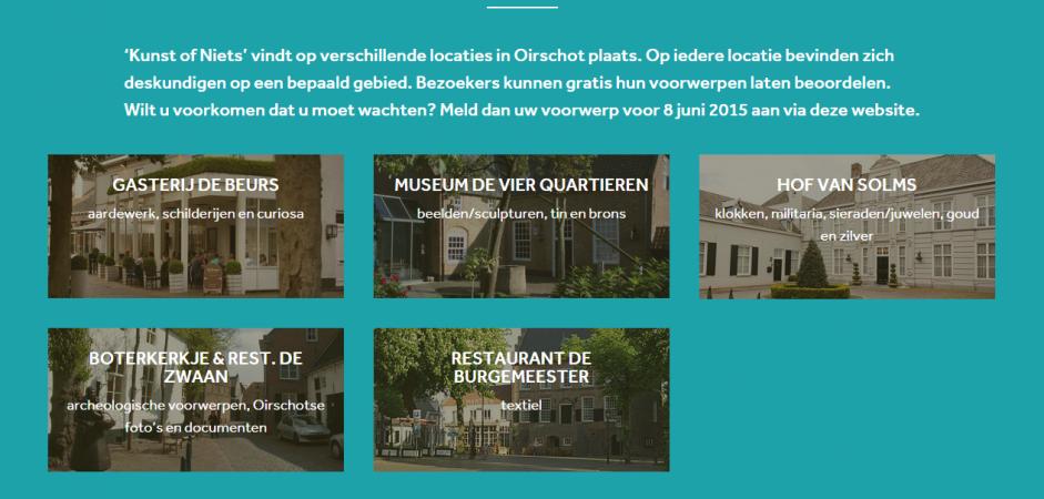 Kunst of Niets responsive one page website   Dualler