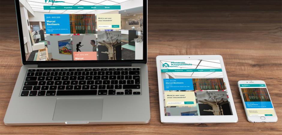 Responsive website voor Museum Kruysenhuis in Oirschot | Dualler