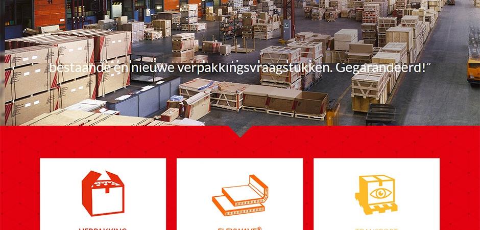 Responsive website voor Prepack