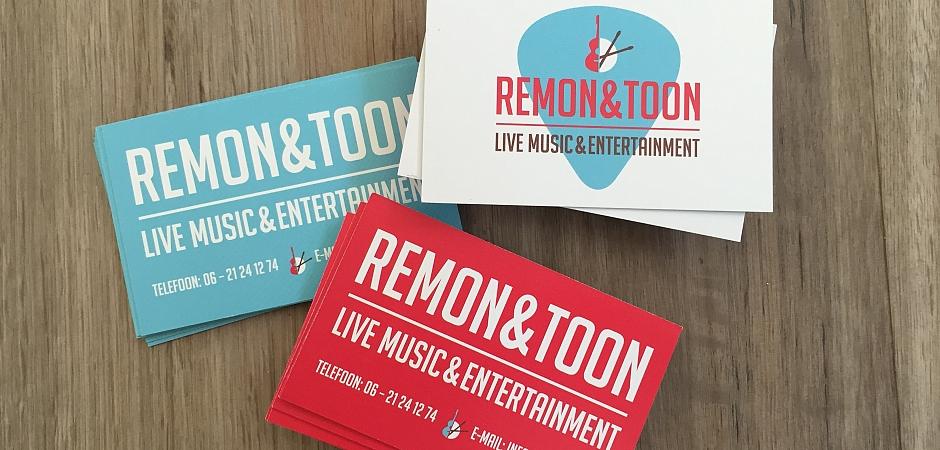 Visitekaartjes Remon & Toon | Dualler