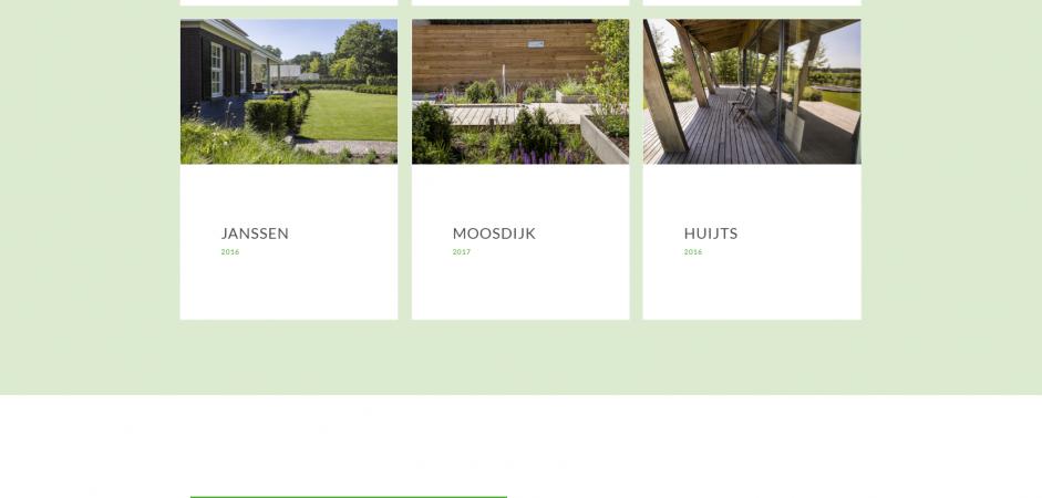 Responsive WordPress website voor Van Gestel Hoveniers | Dualler