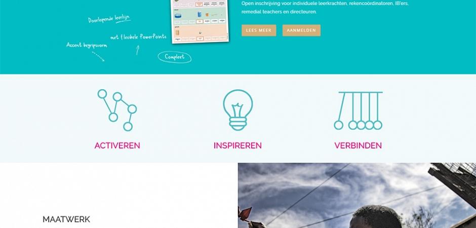 Responsive WordPress website voor Van der Velden Onderwijsadvies | Dualler