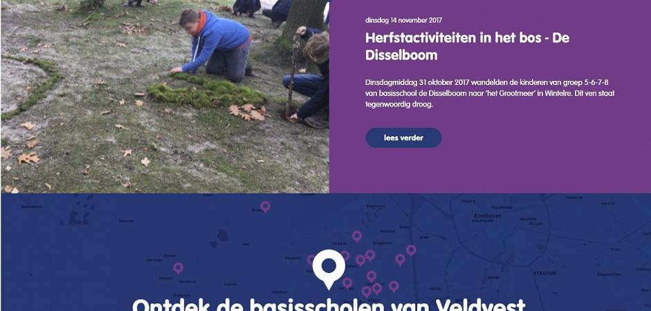 Responsive maatwerk website Veldvest | Dualler