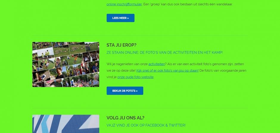 Responsive website VKJZ Oirschot | Dualler