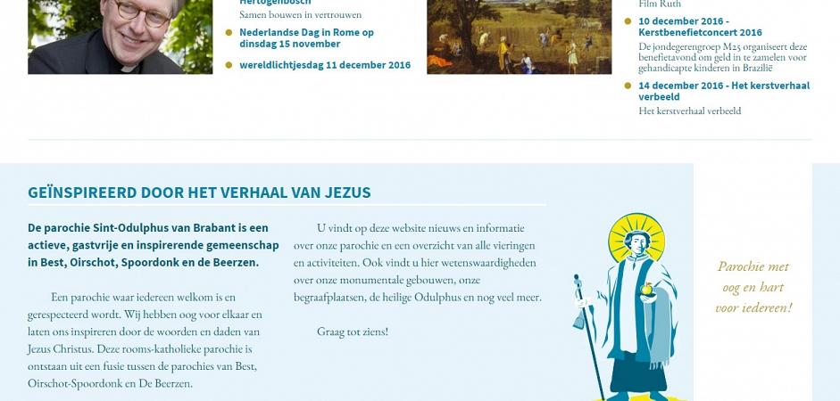 Responsive website voor kerk | Dualler webdesign
