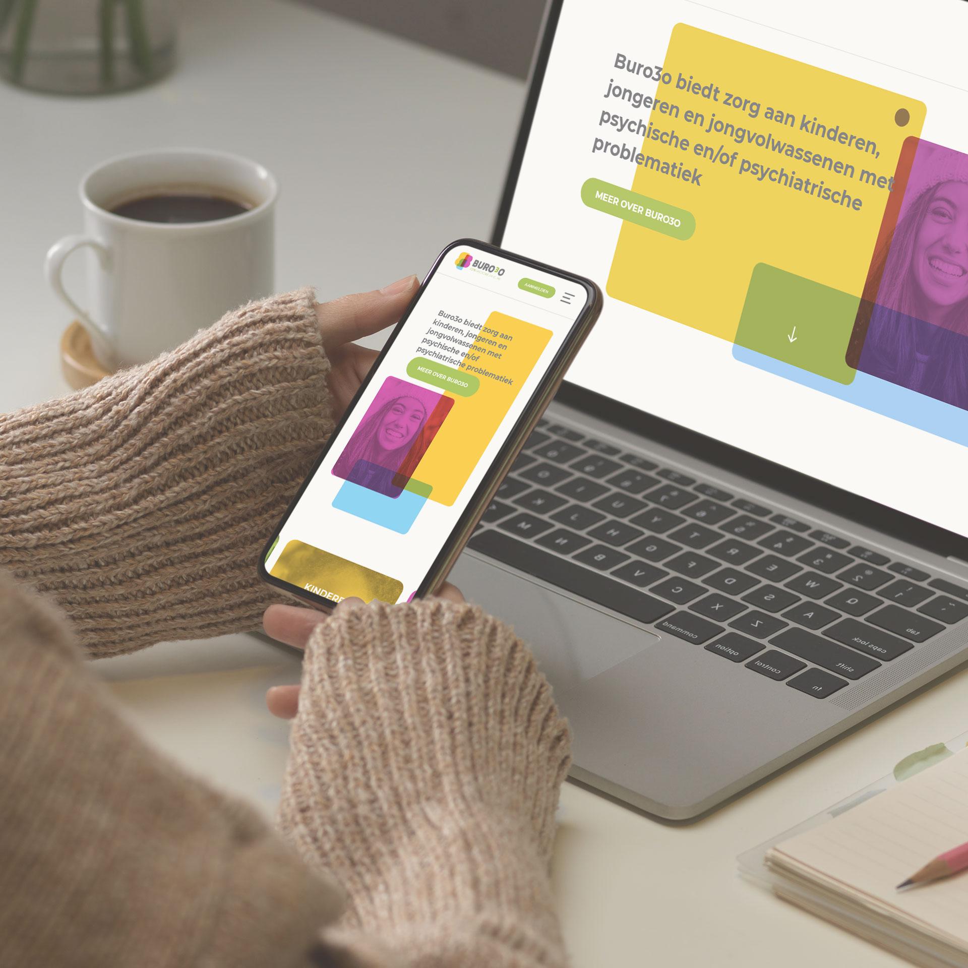Responsive website mockup   Dualler webdesign